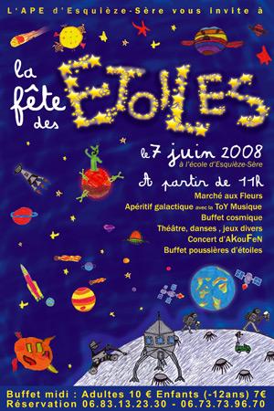 Fête des étoiles 2008