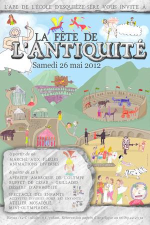 Fête de l'Antiquité 2012