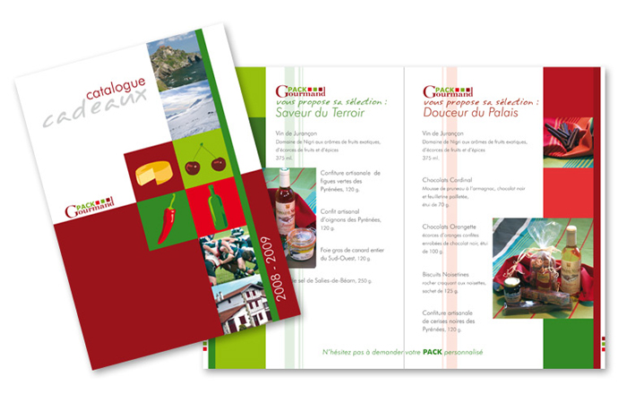 Pack Gourmand : catalogue