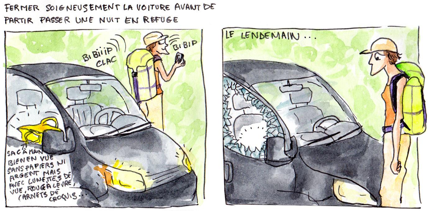 Fermer soigneudement la voiture