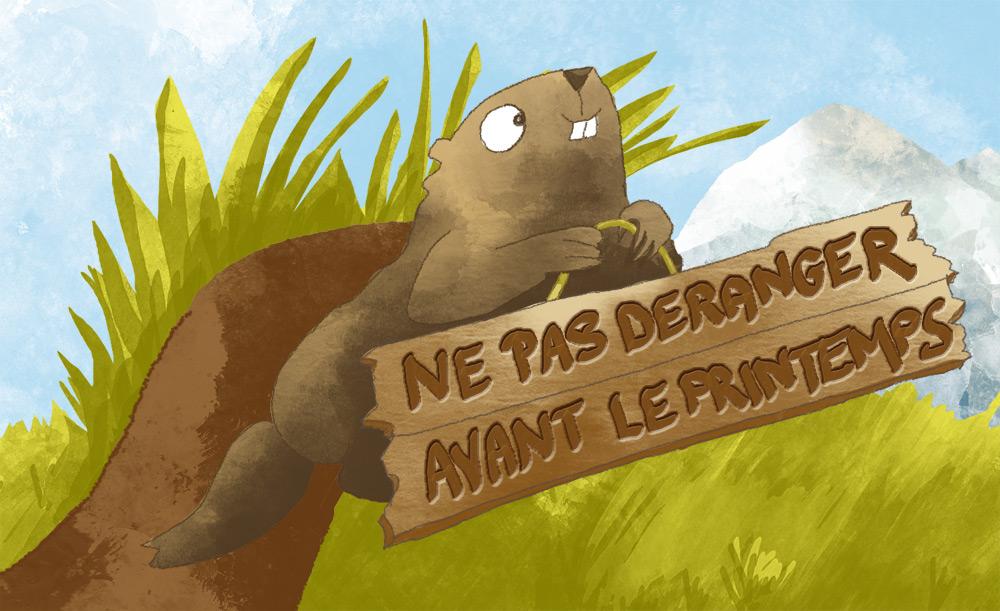 Myrtille la marmotte